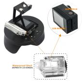Dome port 6 inch compatibil GoPro Hero 3+, 4 cu BacPac GP321