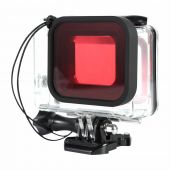 Filtru rosu pentru GoPro Hero 5 Black GoPro Hero 6 Black GoPro Hero 7 GP353C