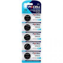 PKCELL Baterie Litiu CR2016 3V