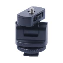 Adaptor patina blitz cu filet 1/4 pentru montarea accesoriilor