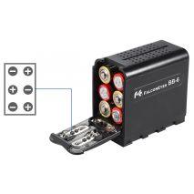 Adaptor 6 baterii AA la acumulator seria NP-F pentru diverse accesorii