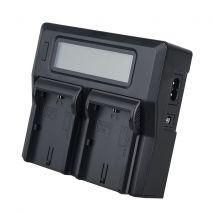 Incarcator Dste LCD dual LP-E6 replace Canon