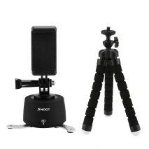 Mini trepied cu cap trepied si suport time lapse pentru camere foto-video si smartphone GP173A
