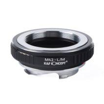 K&F Concept M42-LM  adaptor montura M42 la Leica M