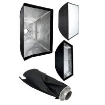 Softbox 60x90cm cu deschidere tip umbrela si montura Bowens
