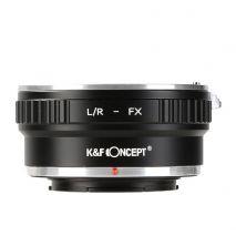 K&F Concept L/R-FX adaptor montura Leica R la Fuji X-Mount