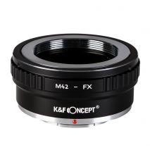 Kent Faith M42-FX II adaptor montura M42 la Fuji X-Mount KF06.307