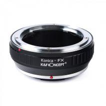 K&F Concept Konica-FX adaptor montura Konica AR la Fuji X-Mount