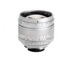 Obiectiv 7Artisans 50mm F1.1 gri pentru Leica M-mount