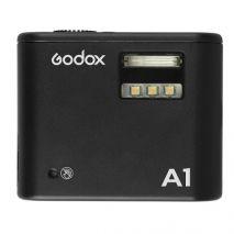 Blitz Godox A1 pentru smartphone cu functie de trigger si lampa