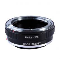 K&F Concept Konica-NEX adaptor montura Konica AR la Sony E-Mount (NEX)