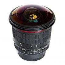 Obiectiv manual Meike 8mm F3.5  Fisheye pentru Sony E-mount