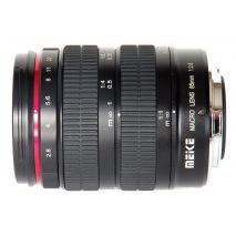 Obiectiv Telefoto manual Meike 85mm F2.8 Macro pentru Canon EOS EF-Mount Full Frame