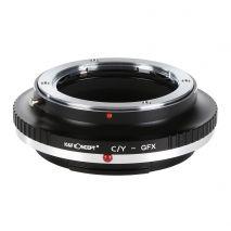 K&F Concept C/Y-GFX adaptor montura de la Contax Yashica la Fuji GFX-Mount KF06.352