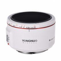 Yongnuo YN 50mm f1.8 II Alb pentru Canon EOS
