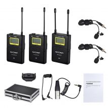 KIT K&F Concept Microfon Wireless M9 pentru camere video