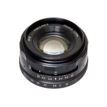 Obiectiv manual Meike 50mm F2.0 pentru Olympus si Panasonic MFT M4/3-mount