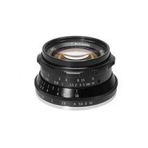 Obiectiv manual 7Artisans  35mm F1.2 negru pentru Canon EOS-M Mount