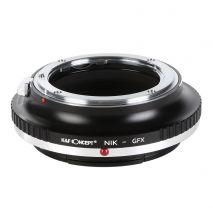 K&F Concept NIK-GFX adaptor montura  de la Nikon AI  la Fujifilm GFX-Mount KF06.351