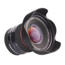 Obiectiv manual Meike 12mm F2.8 pentru Canon EF-M