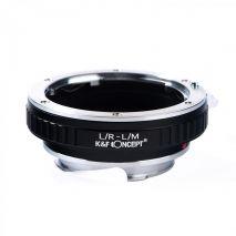 K&F Concept L/R-L/M adaptor montura de la Leica R la Leica M-Mount KF06.171