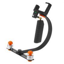 Stabilizator handheld CS 100 pentru camere video si smartphone