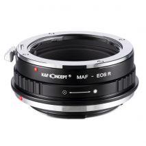 K&F Concept Minolta (AF)-EOS R adaptor montura de la Minolta AF/Sony A la Canon EOS R KF06.381