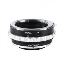 K&F Concept PK/DA-FX adaptor montura de la Pentax K/M/A/FA/DA la Fuji X-Mount KF06.311