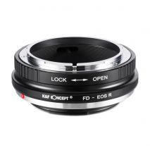 K&F Concept FD-EOS R adaptor montura de la Canon FD la Canon EOS R KF06.378