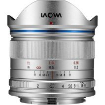 Obiectiv Manual Venus Optics Laowa wide-angle 7.5mm f/2  Silver pentru Olympus si Panasonic MFT M4/3 Ultra-Light
