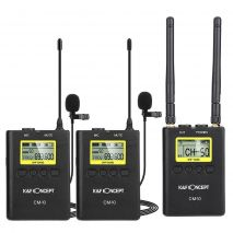 KIT Microfon Wireless K&F Concept CM-10 pentru camere video