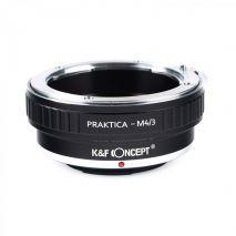 K&F Concept Praktica-M4/3 adaptor montura de la Praktica la Micro 4/3-Mount(MFT) KF06.169