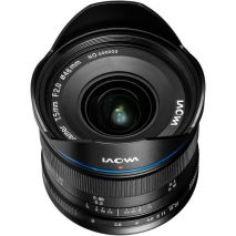 Obiectiv Manual Venus Optics Laowa wide-angle 7.5mm f/2  Negru pentru Olympus si Panasonic MFT M4/3 Ultra-Light