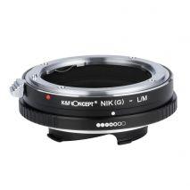 K&F Concept Nikon(G)-L/M adaptor montura de la Nikon G/F/AI la Leica M-Mount KF06.323