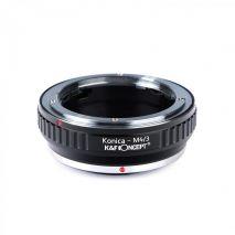 K&F Concept Konica-M4/3 adaptor montura de la Konica AR la Micro 4/3-Mount(MFT) KF06.139