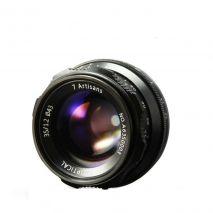 Obiectiv manual 7Artisans 35mm F1.2 negru pentru Sony E-mount