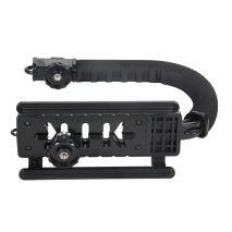 Suport de filmare tip cage Commlite Video Handle CS-VX pentru DSLR-uri si camere video de dimensiuni medii