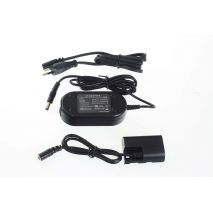 AC adapter ACK-E6 DR-E6 LP-E6 replace Canon EOS 5D MarkII 7D 60D etc