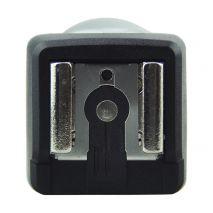 JJC JSYK-3A Adaptor patina blitz cu celula slave optic pentru blitzuri Canon