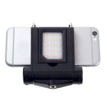 Tolifo HF1501 Suport smartphone cu Lampa foto-video 15 LED-uri SMD CRI 95