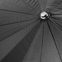 Umbrela studio reflexie silver - black 100cm - 16 spite