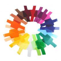 Filtre colorate gel pentru blitz speedlite