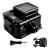 Carcasa waterproof cu touch backdoor 30m compatibila GoPro Hero 5 Black Hero 6 Black Hero 7 GP377A