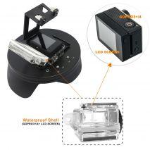 Dome port mini 4 inch compatibil GoPro Hero 3+, 4 cu BacPac GP323