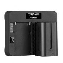 Incarcator rapid dublu Yongnuo YN750C pentru NP-F