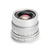 Obiectiv manual 7Artisans  35mm F2.0 gri pentru Canon EOS-M