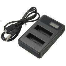 Incarcator LCD dual AHDBT-501 pentru GoPro Hero 5 Black Edition, GoPro Hero 5, GP 432