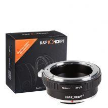 K&F Concept AI-M4/3 adaptor montura NIkon AI-M4/3