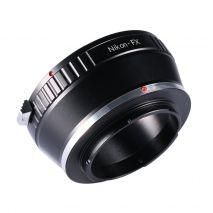 Kent Faith NIK-FX adaptor montura  Nikon la Fujifilm FX