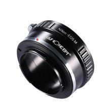 Kent Faith Nikon-EOS M adaptor montura de la Nikon AI la Canon EOS M